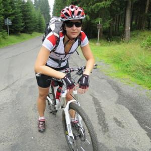 kačka bikerka