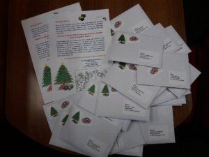vánoční dopisy pro naše táborové děti